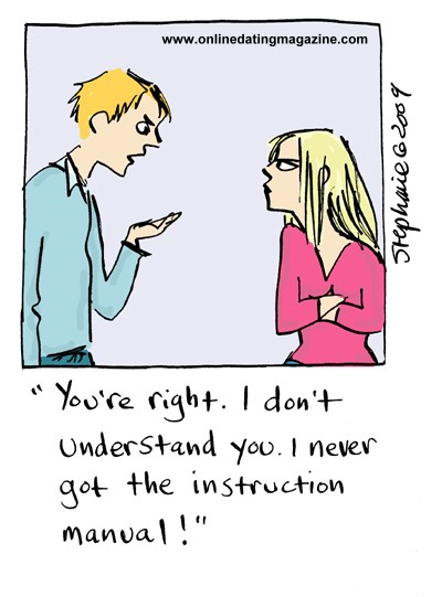 Online Dating Cartoon – Homely