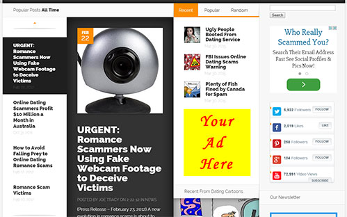 Home Page Banner Ad