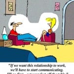 Communication and Relationships Cartoon