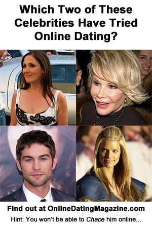 Celebrities who have tried online dating