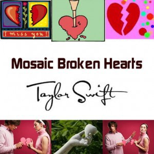 Mosaic Broken Hearts will be in stores on October 13, 2013