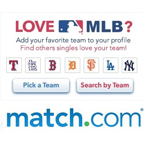 Match.com and MLB Team Up